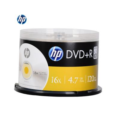 惠普(HP) DVD+R 光盘/刻录盘 空白光盘 16速4.7GB 桶装50片