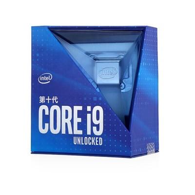 英特尔(Intel)i9-10900K 10核20线程 盒装CPU处理器